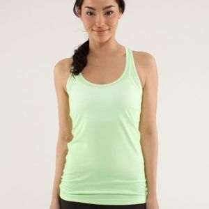 Lululemon Cool Racerback Tank in Wild Lime
